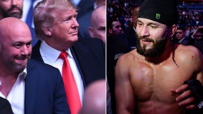 UFC fighters might attend MAGA rallies to help keep the peace