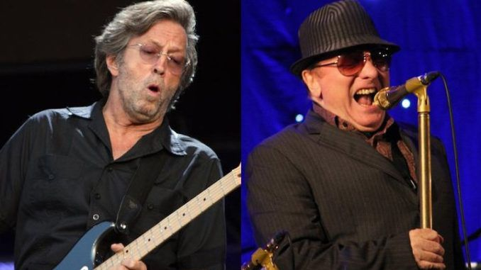 Eric Clapton and Van Morrison release anti-lockdown single 'stand and deliver'