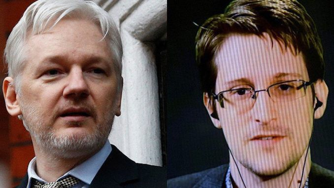 Rep. Tulsi Gabbard urges President Trump to pardon Julian Assange and Edward Snowden for helping to expose the deep state