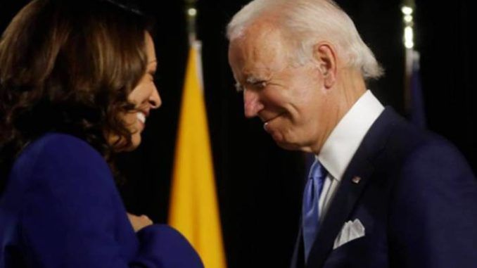 Joe Biden 'jokes' that if Kamala disagrees with his policies he'll develop a disease and resign