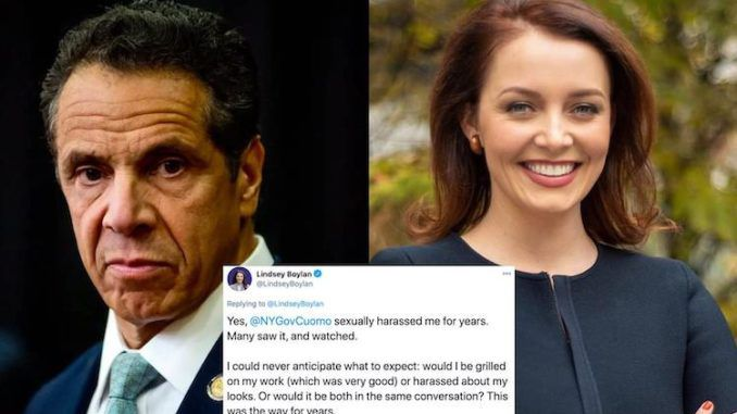 Gov. Cuomo accused of sexually harassing former aide