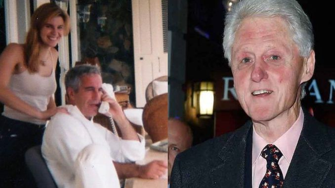 Former senior Clinton aide admits Bill Clinton was obsessed with repeatedly visiting Epstein's pedo island
