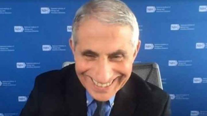 Dr. Anthony Fauci cancels Christmas for Americans