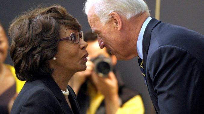 Maxine Waters says Trump is compromised by Putin and promises Biden will deal with China