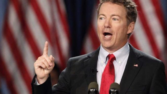 Rand Paul slams wearing face masks as submission