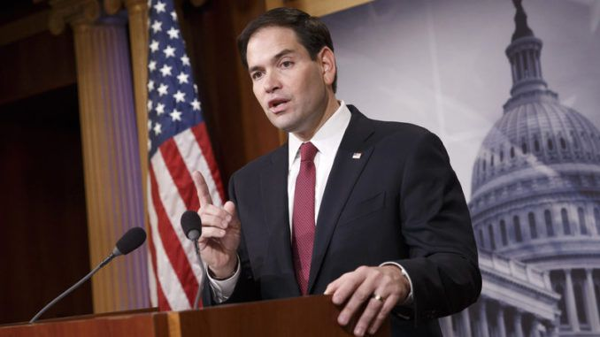 Marco Rubio warns the elites are tricking the American public into receiving the COVID vaccine
