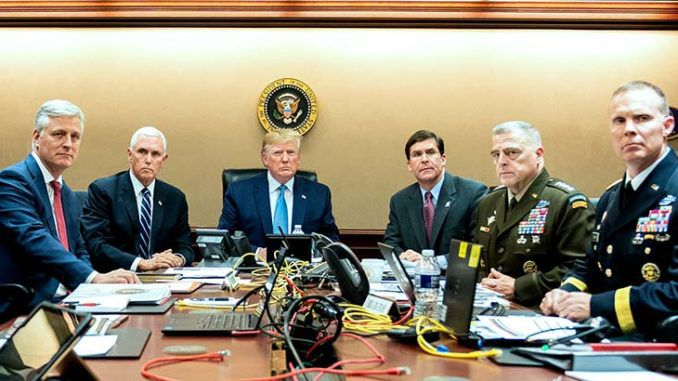 President Trump quietly signs executive order relating to the U.S. military