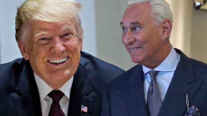 Trump triggers libs with slew of Xmas pardons, including Roger Stone