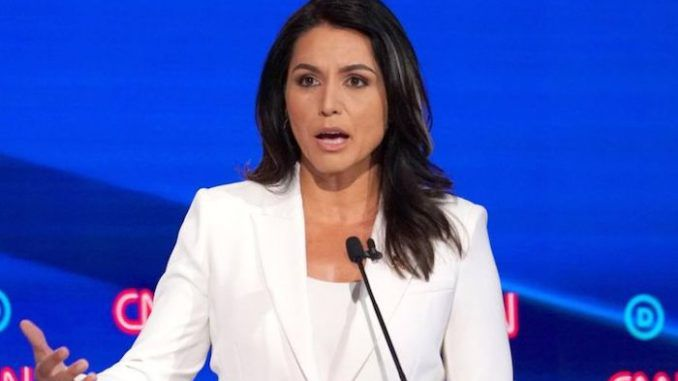 Tulsi Gabbard introduces bill banning males from competing in women's sports