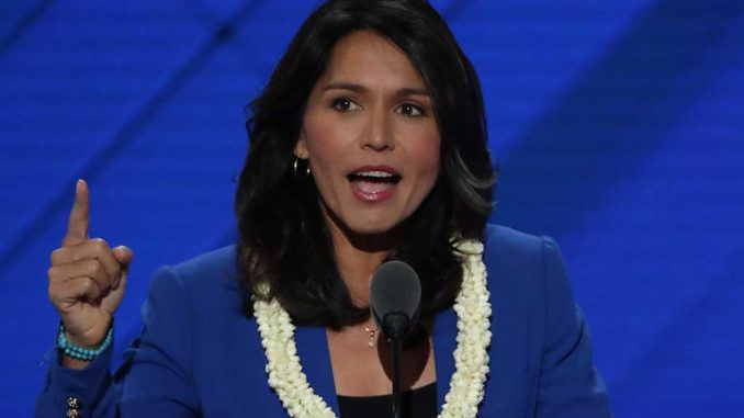 Tulsi Gabbard wants Big Tech to give their profits to small businesses forced to close during lockdowns