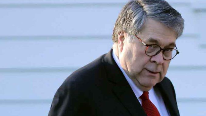 Bill Barr says there is no evidence of widespread voter fraud in 2020 presidential election