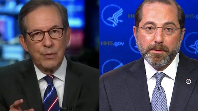 Chris Wallace scolds Trump official for not calling Biden the President-Elect