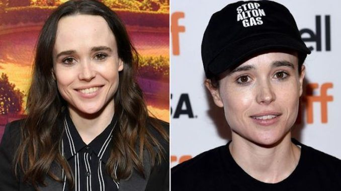 Juno star Ellen Page comes out as a man named Elliot