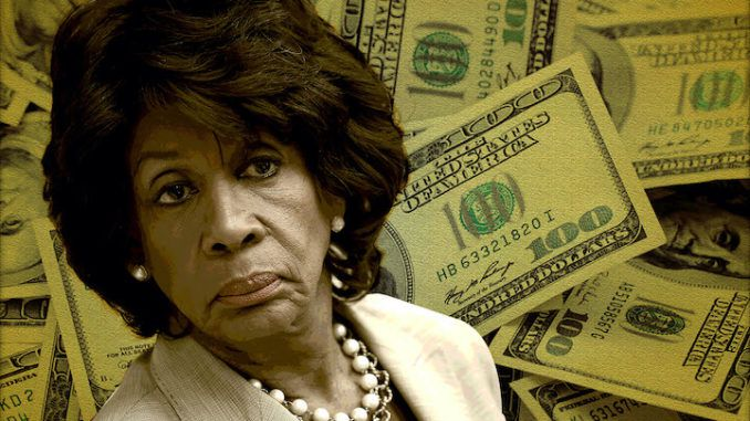 Maxine Waters caught funnelling 240,000 dollars to daughter