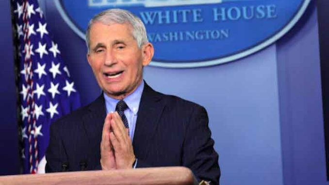 Dr. Fauci tells reporters he feels liberated serving under a Biden administration