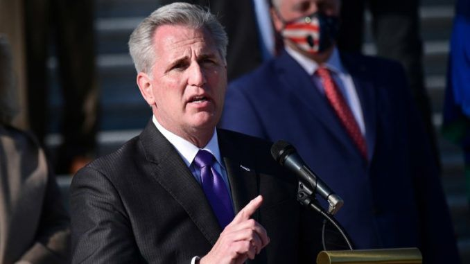 House Minority Leader Kevin McCarthy says election proves Americans dislike Democratic Party