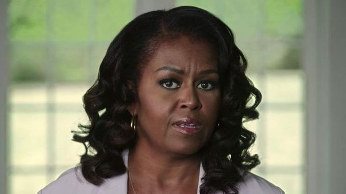 Michelle Obama wants Trump banned everywhere