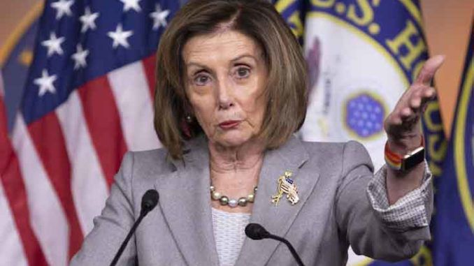 Nancy Pelosi calls fellow House members 'enemies within'