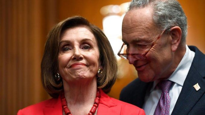 Pelosi and Schumer promise to eject Trump from the White House.
