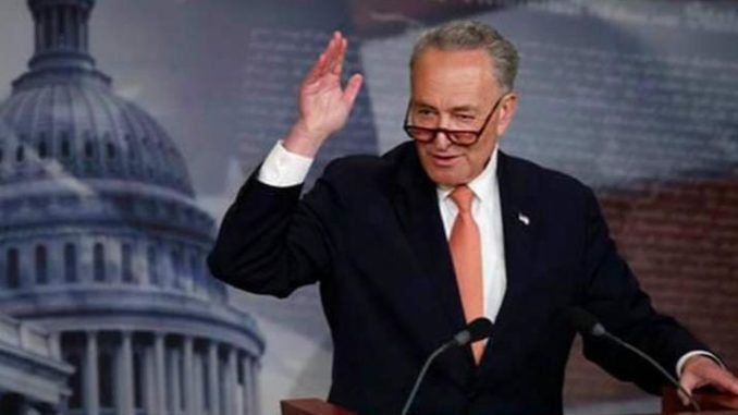Schumer condemns Trump supporters following pro-Trump protests in D.C.