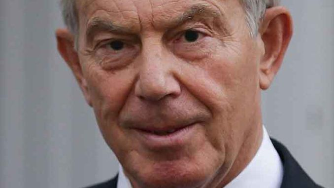Tony Blair wants a global COVID vaccine passport rollout