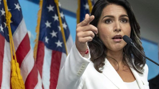 Tulsi Gabbard declares Brennan, Schiff and Big Tech domestic enemies of the United States of America