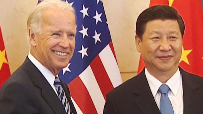 Biden's chief of personnel worked at Chinese Communist Party group