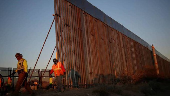 Biden admin cancels border wall construction