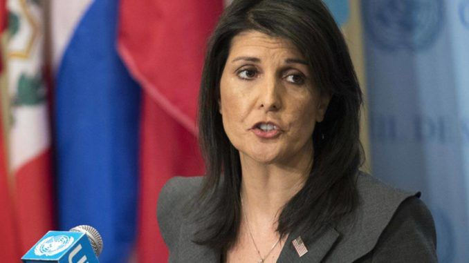 Nikki Haley likens Trump censorship to an act of communism