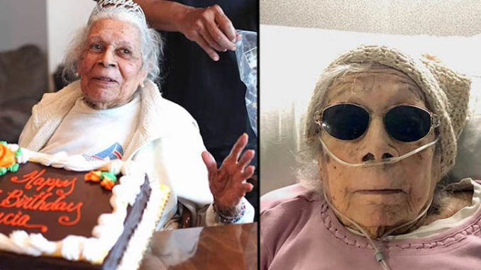 105 year old grandma beats covid, reveals drinking gin and praying to God is her secret to longevity