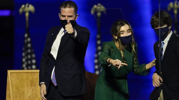 Hunter Biden busted for smuggling ex-sex worker into D.C. government building