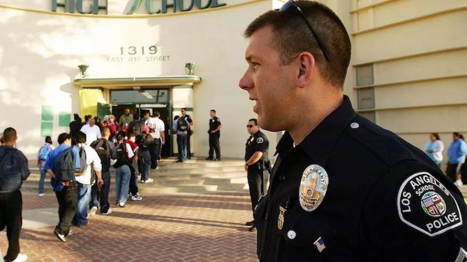 Los Angeles slashes school police budget to replace cops with climate officers