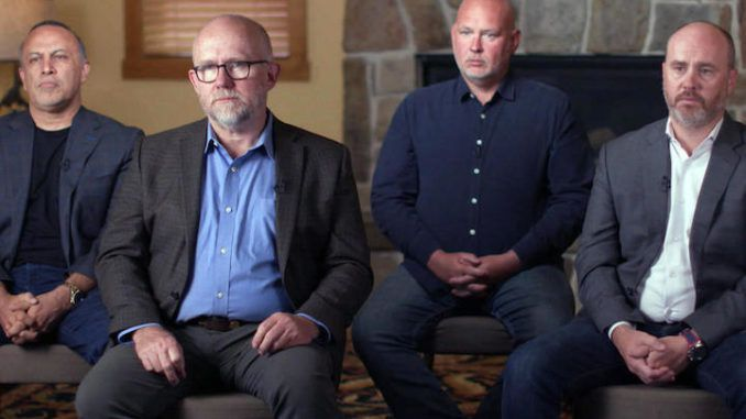 Lincoln Project founders, accused of pedophilia, begged teenagers to DM them in unearthed tweet