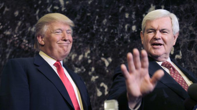 Newt Gingrich says Trump owns the GOP now