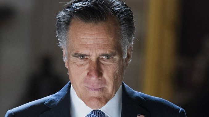 RINO Romney admits Trump would win in 2024 if he ran