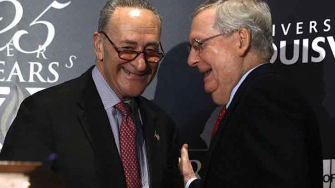 Sen. Chuck Schumer vows to push through Democrats extremist agenda by hook or by crook