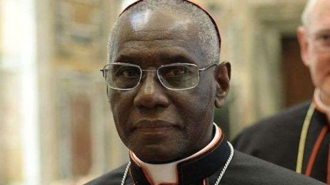Vatican Cardinal Robert Sarah removed by Pope Francis
