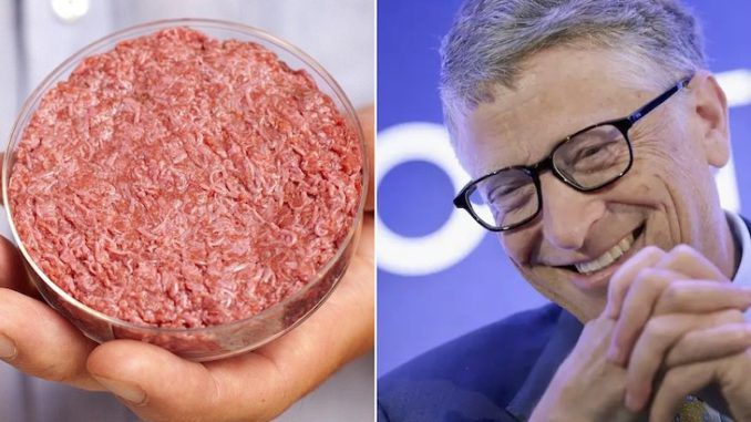 Bill Gates says humans will eat synthetic beef