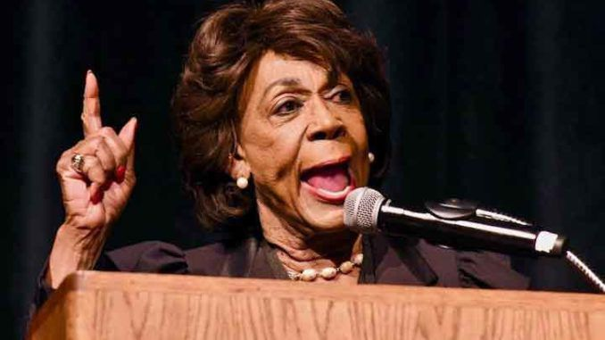 Maxine Waters calls for charging Trump with premeditated murder