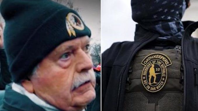 Accused Oath Keeper revealed to be former FBI section chief