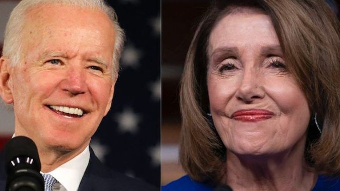 Joe Biden flirts with Nancy Pelosi, says he admires the devil out of her