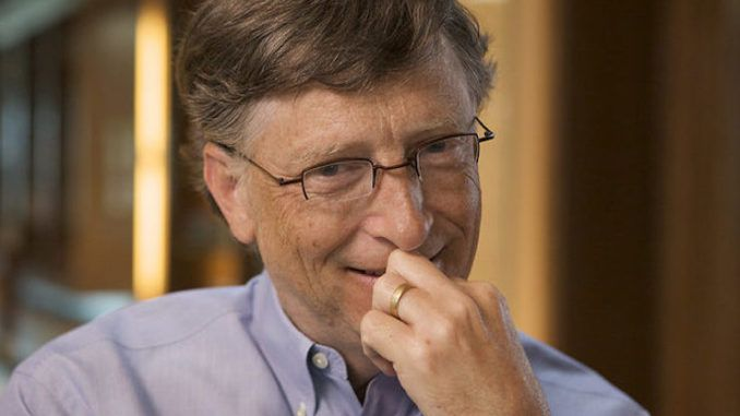 Bill Gates to create COVID system to scan school children with unique barcode