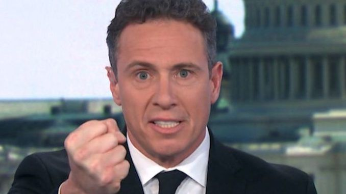 CNN's Chris Cuomo claims he is a black man now