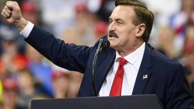 MyPillow CEO Mike Lindell says Trump will be president before 2024