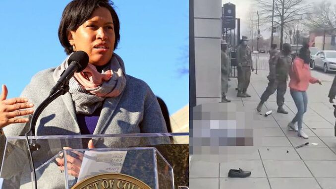 DC Mayor Muriel Browser blames Uber driver for his own murder at the hands of two black girls