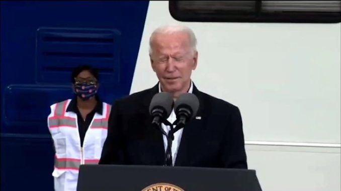 Joe Biden messes up Democrats' names and asks what he's doing here during Houston visit