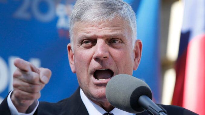 Franklin Graham declares Jesus would take the COVID vaccine and therefore so should the public