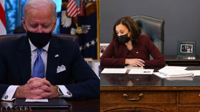 Kamala Harris tells PM of Ireland that USA is a racist and violent country