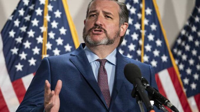 Ted Cruz warns they are coming for all of our guns