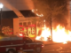 Antifa burns Portland Apple store to the ground
